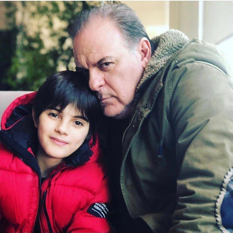 Ünlü oyuncu Burak Sergen'den iyi haber! Oğlu sosyal medyadan paylaştı