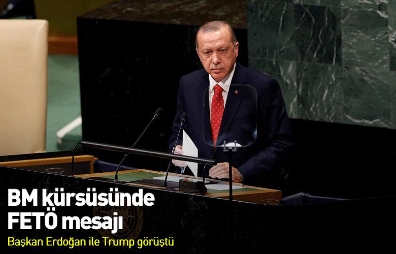 Başkan Erdoğandan BMde FETÖ mesajı