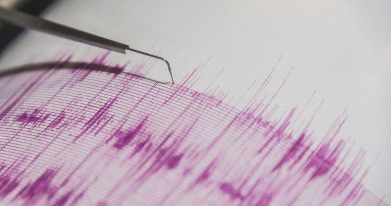 Muğlada 4,1 büyüklüğünde deprem