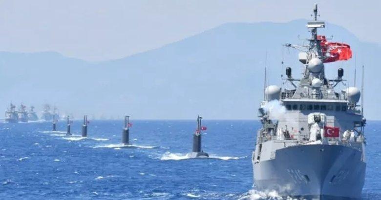 Savaş gemilerimiz Akdeniz'e iniyor