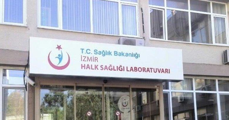 İzmir İl Sağlık Müdürlüğü'nden Halk Sağlığı Laboratuvarı açıklaması
