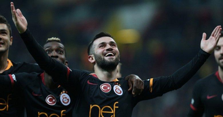 Galatasaray, Kayseri'ye patladı