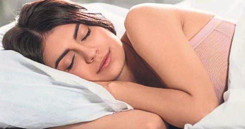 Vücut kendini uykuda tamir ediyor
