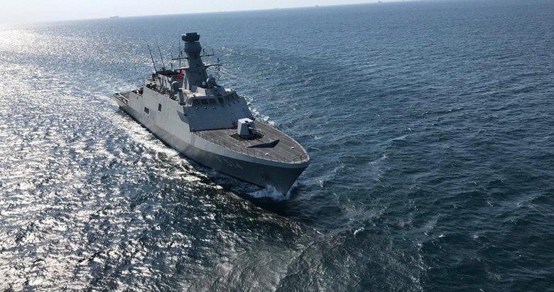 İşte Türkiye'nin yeni milli savaş gemisi! Törene Başkan Erdoğan da katıldı