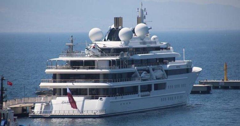 200 milyon sterlinlik Katara Bodrum'un ilgi odağı oldu! İçinde yok yok