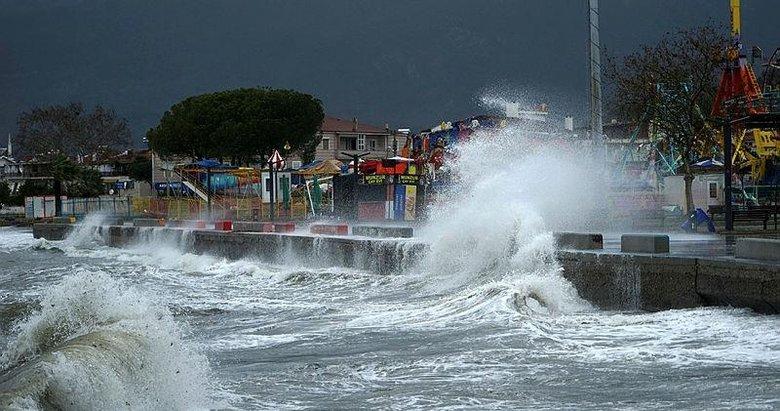 Marmara ve Ege'de sarı alarm! Meteoroloji'den peş peşe uyarılar...