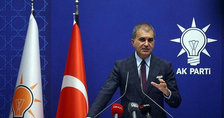 AK Partili Çelik: CHP sözcüsü, çirkin ve ahlak dışı bir yalana imza attı
