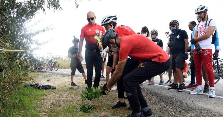 Bisikletine kamyon çarparak ölen Zeynep'in arkadaşları isyan etti
