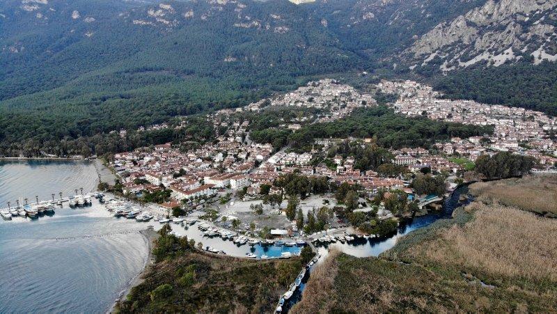 Sakin kent Akyaka'da 'pandemi' sessizliği