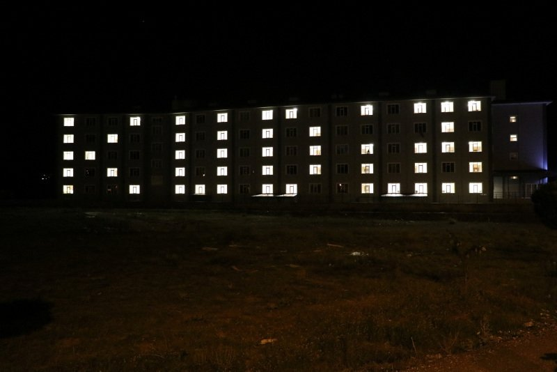 KYK yurtlarındaki öğrencilerden İsrail'i protesto