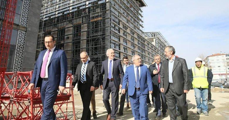Belediyenin yeni hizmet binası 6 ay sonra hizmete sunuluyor