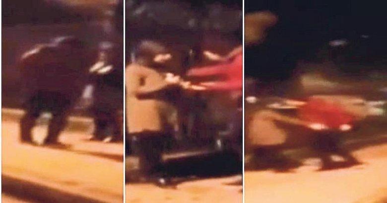 Sokakta bıçaklama olayı kurgu çıktı