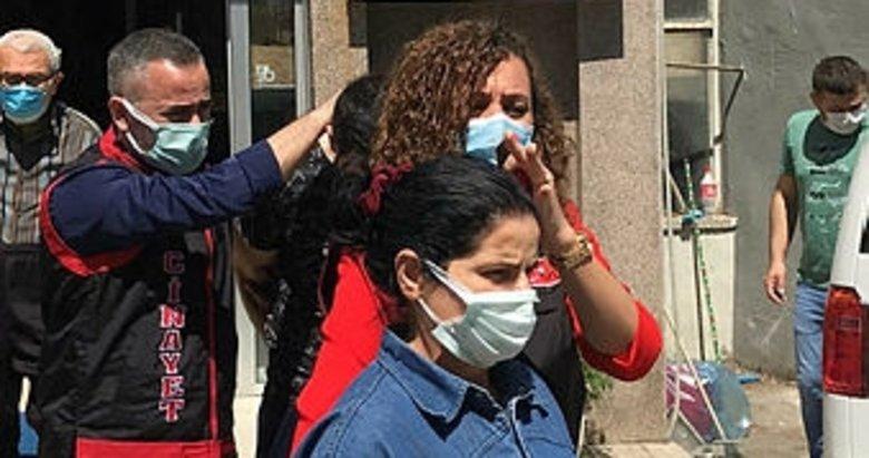 Kızını eşarpla boğarak öldüren anne tutuklandı