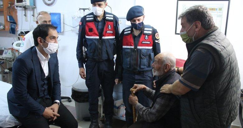 Domaniç'te kayıp alzheimer hastası, 24 saat sonra bulundu