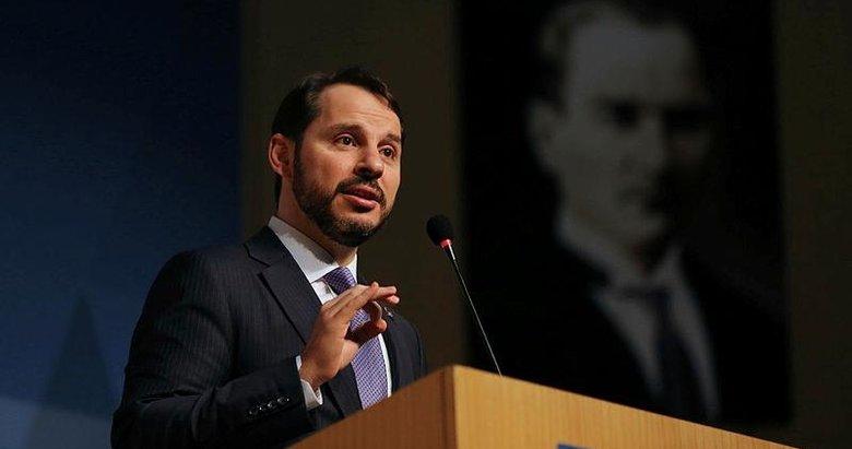 Hazine ve Maliye Bakanı Berat Albayrak'tan flaş konkordato açıklaması