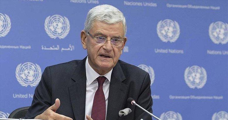 BM 75. Genel Kurul Başkanı Bozkır'dan Doğu Akdeniz'deki gerilimin diyalog ile çözülmesi çağrısı