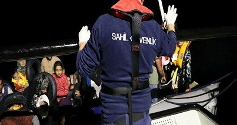 Balıkesir Ayvalık açıklarında 47 düzensiz göçmen yakalandı