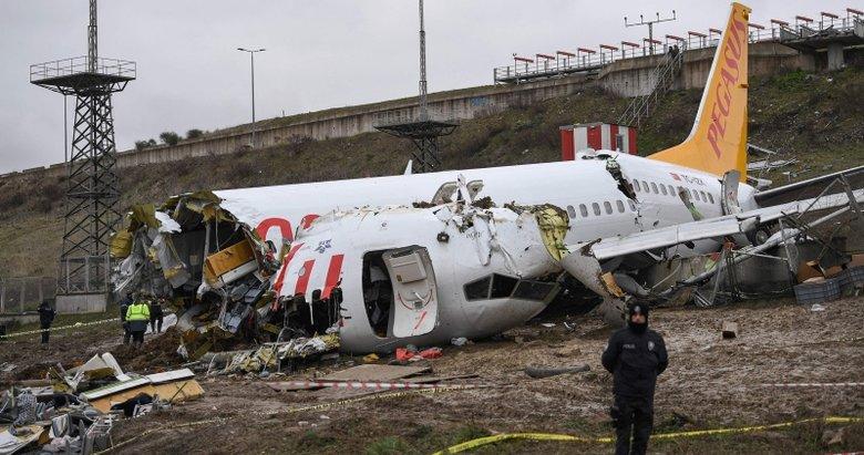Sabiha Gökçen'deki uçak kazasıyla ilgili yeni detay!