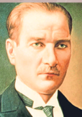 Herkese kumaş Atatürk posteri