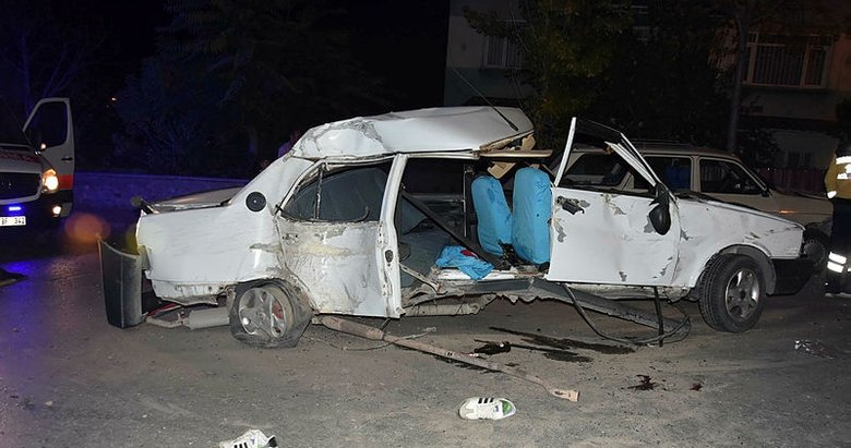 Kütahya'da trafik kazası: 1 ölü, 3 yaralı