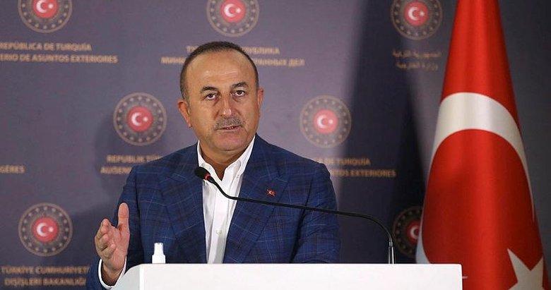 Dışişleri Bakanı Mevlüt Çavuşoğlu'ndan Doğu Akdeniz açıklaması