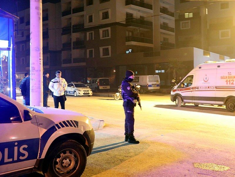İzmir'in Çiğli ilçesinde dehşet! Polis memurunun evinde korkunç manzara