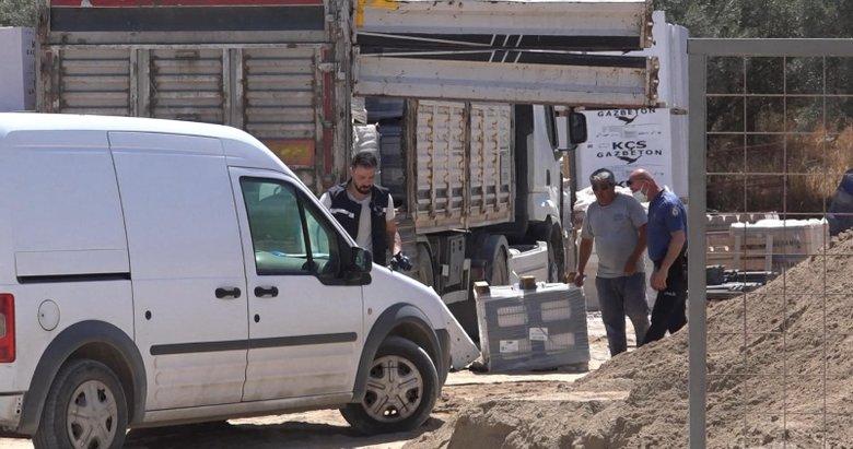 Aydın'da korkunç son! 250 kiloluk paletin altında kalan kamyon şoförü...