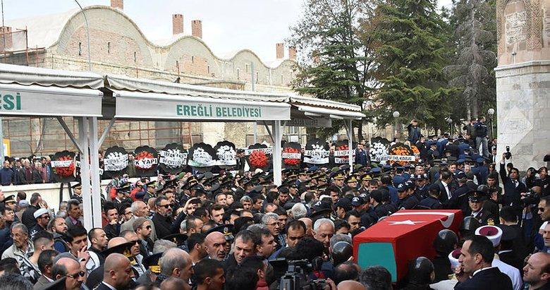 Şehit Uzman Çavuş'u, 8 bin hemşehrisi uğurladı
