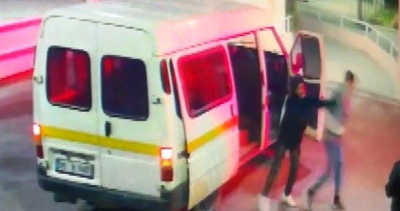 Dövüp, gasp edip, hastane önüne bıraktılar! İki şahıs tutuklandı
