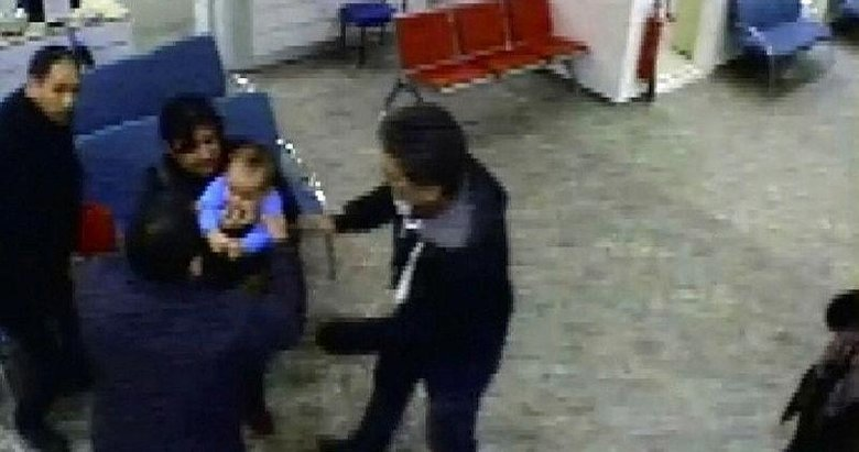 Manisa'da hastane sekreterinden bebeğe hayat kurtaran müdahale