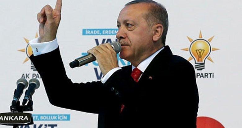 Cumhurbaşkanı Erdoğan, AK Parti'nin seçim beyannamesini açıkladı