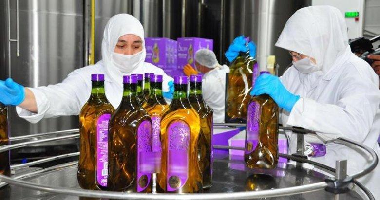 Akhisar'dan 60 ülkeye zeytin ve zeytinyağı ihracatı