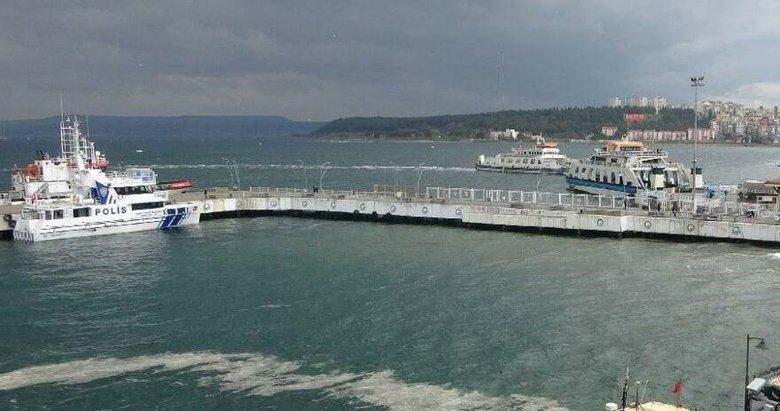 Bozcaada ve Gökçeada'ya feribot seferleri yapılamıyor