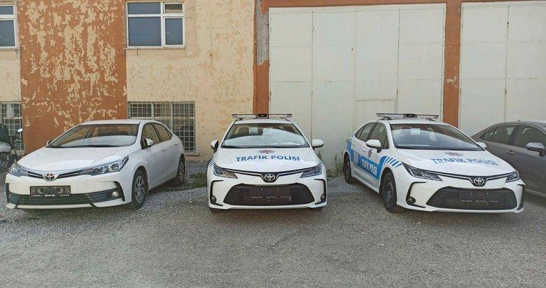 Kütahya İl Emniyet Müdürlüğü'ne 3 yeni araç