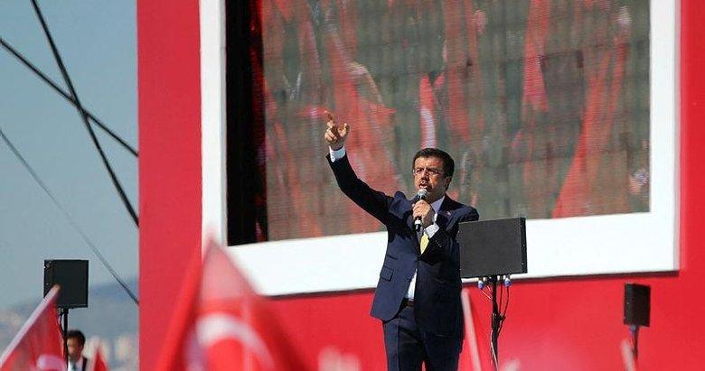 Nihat Zeybekci'den İzmirlilere miting teşekkürü