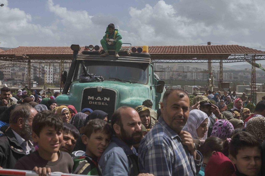 Afrin'den son görüntüler geldi