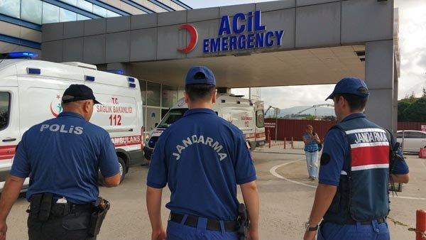 Hastanelerde jandarma dönemi başladı