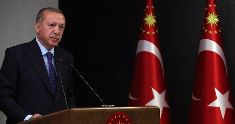 Başkan Erdoğan'dan Irak Başbakanı Kazımi'ye yeni görevi için tebrik mesajı