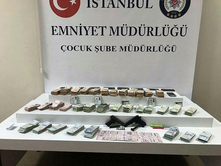 İstanbulda dev operasyon: Çocukları kullanmışlar!