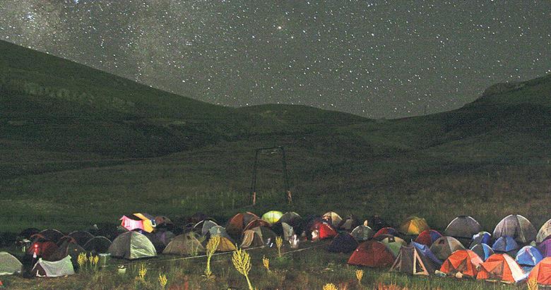 Gökyüzüyle tanışma kampı