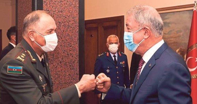 Azeri Genelkurmay Baskanı'ndan ziyaret