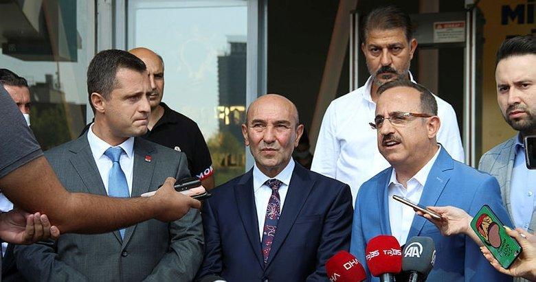 CHP'li Belediye Başkanı Soyer AK Parti İzmir İl Başkanı'nı ziyaret etti