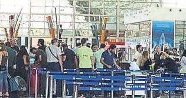 Havalimanında esrar operasyonu