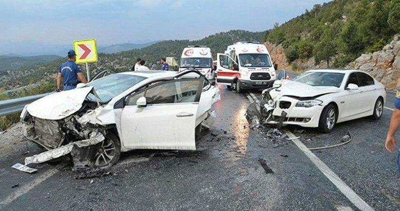 Muğla'da trafik kazası sayısı arttı