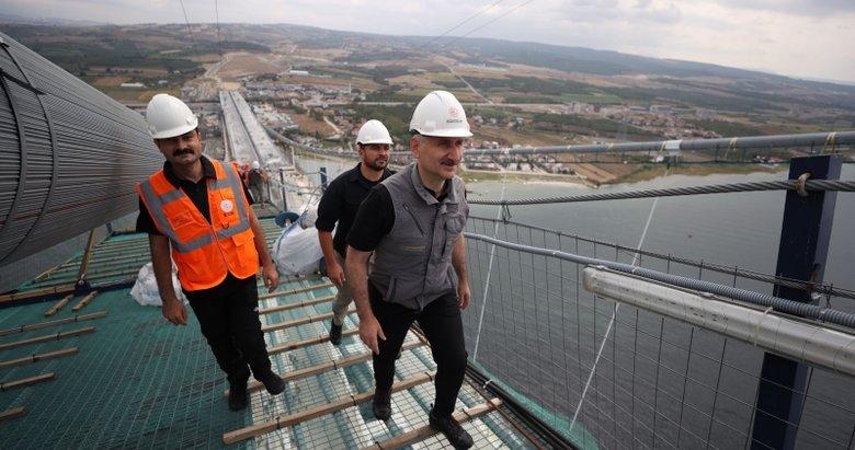 1915 Çanakkale Köprüsü'nde tarihi anlar! Asya'dan Avrupa'ya ilk adımlar atıldı