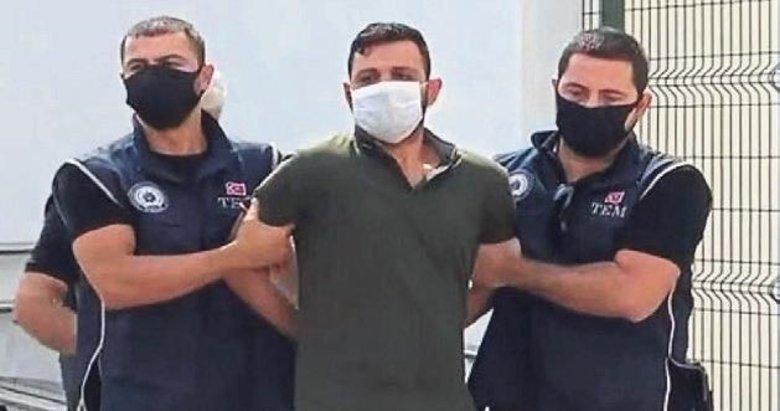Hücre evinde yakalanan 6 terörist eylemlere katılmış