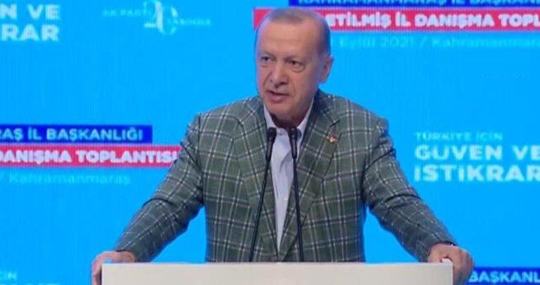 Son dakika: Başkan Erdoğan'dan, AK Parti Genişletilmiş İl Danışma Toplantısı'nda önemli mesajlar