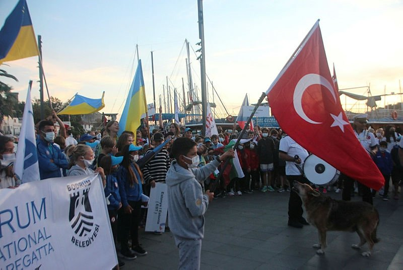 Bodrum'da yelken yarışları başladı