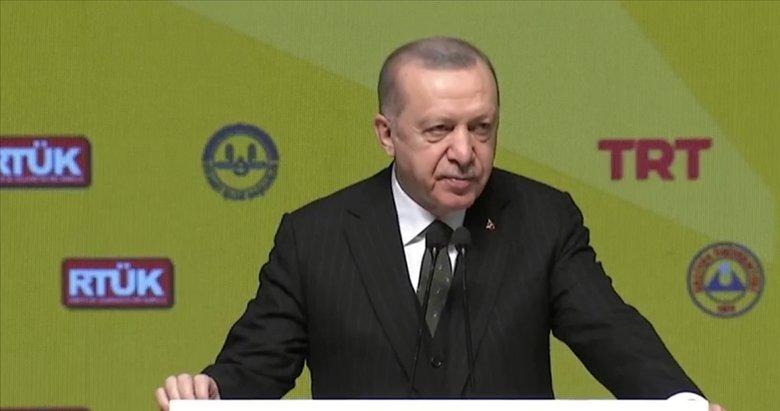Başkan Erdoğan'dan 1. Uluslararası Medya ve İslamofobi Sempozyumu'nda önemli mesajlar