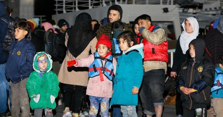 Yunanların ölüme terk ettiği göçmenleri Türk Sahil Güvenlik kurtardı